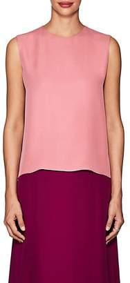 The Row Women's Shelly Silk Top