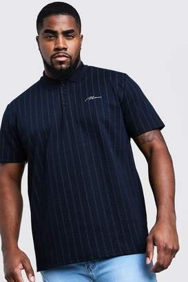 Big & Tall MAN Signature Stripe Polo