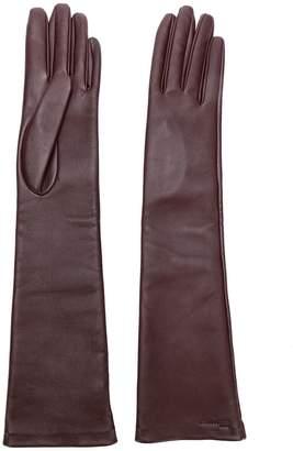 Salvatore Ferragamo long gloves