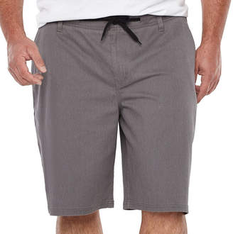 Zoo York Mens Drawstring Waist Chino Short-Big and Tall