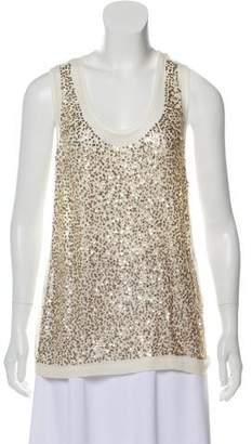 Stella McCartney Sequin Embellished Top