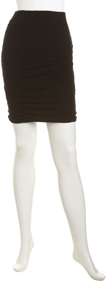 James Perse Ruched Miniskirt