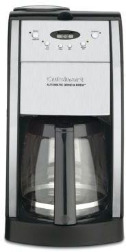 Grind and Brew Automatic 12-Cup Coffeemaker - DGB-550BK