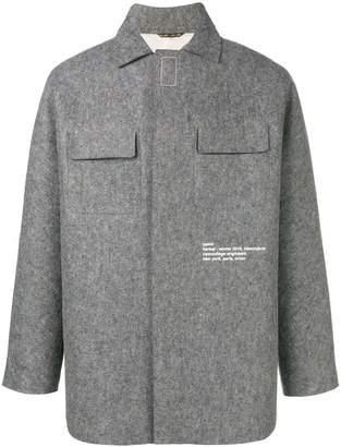 Oamc oversized shirt jacket