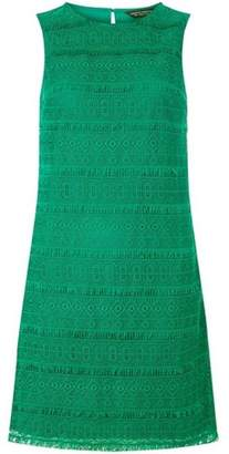 Dorothy Perkins Womens Fringed Lace Shift Dress