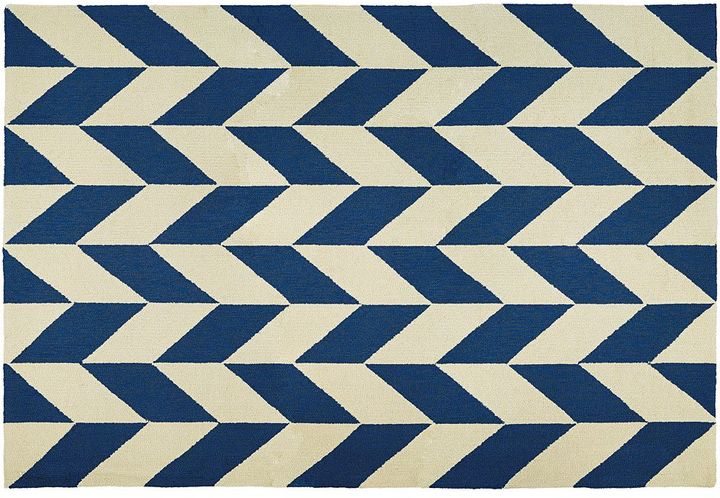 Couristan Couristan Covington Herringbone Chevron Indoor Outdoor Rug