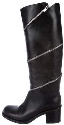 Free Lance Freelance Leather Knee-High Boots