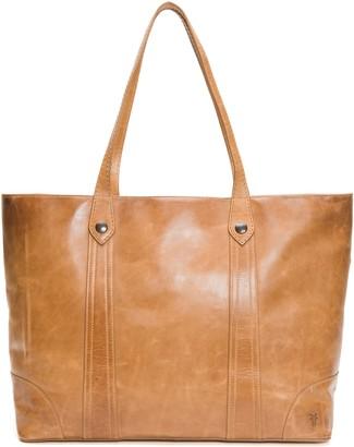 Frye Melissa Traveler Leather Tote