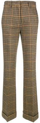 Etro plaid trousers