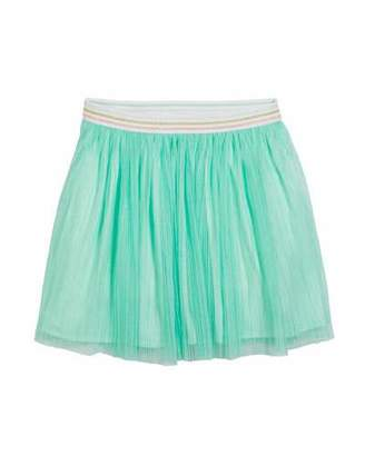 Kate Spade Pleated Glittered Tulle Skirt, Size 7-14