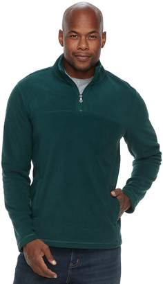Croft & Barrow Men's Arctic Fleece Classic-Fit Easy-Care Quarter-Zip Pullover