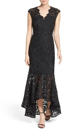 Women's Shoshanna Evangelina High/low Gown $580 thestylecure.com