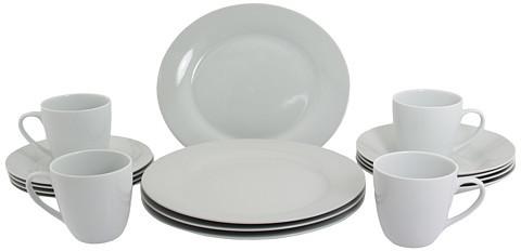 10 Strawberry Street Round 16 Pc Dinnerware Set