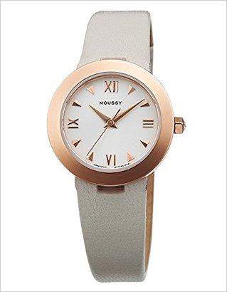 Moussy (マウジー) - マウジー腕時計 WM0151QC ブランド スタンダード レザー モデル MOUSSY
