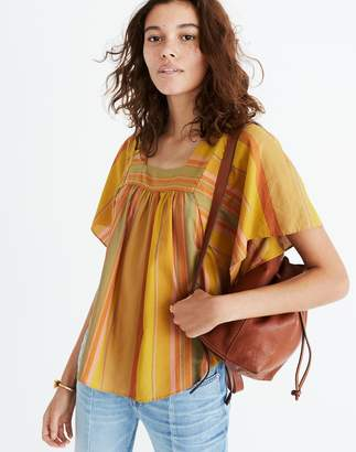Madewell Striped Butterfly Top