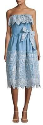 Shoshanna Eleanora Cotton Dress