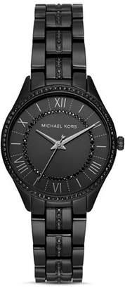 Michael Kors Mini Lauryn Black Watch, 33mm