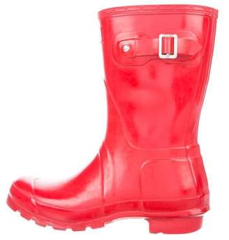 Hunter Mid-Calf Rubber Rain Boots
