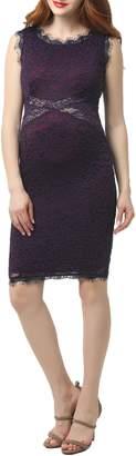 Kimi and Kai Lynn Lace Body-Con Maternity Dress