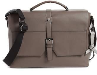 Ted Baker London Sandune Leather Messenger Bag