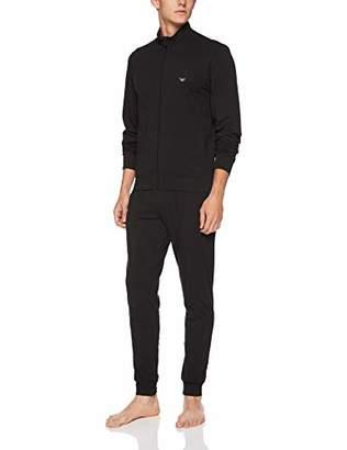 Emporio Armani Men's Full Zip Sweater Pants Loungewear Set