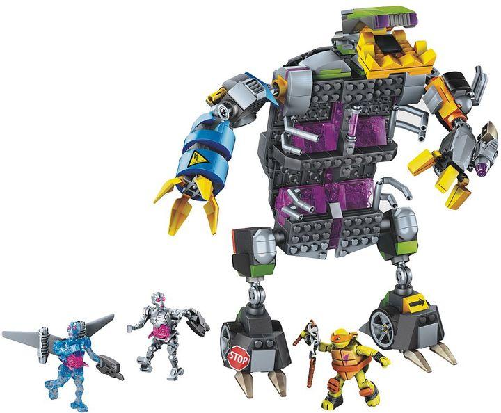 Mega bloks Teenage Mutant Ninja Turtles Transforming Mech Set by Mega Bloks