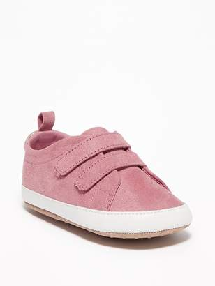 Old Navy Faux-Suede Double-Strap Sneakers for Baby