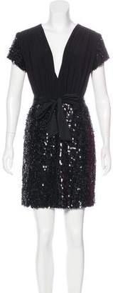 Mark & James by Badgley Mischka by Badgley Mischka Sequined Mini Dress