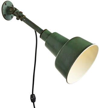Rejuvenation Workshop Green Task Lamp by Fostoria