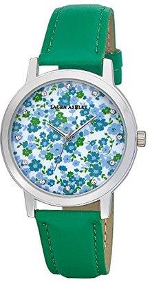 Laura Ashley Women's LA31022GR Laura Ashley Analog Display Quartz Green Watch $45.13 thestylecure.com