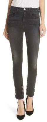 3x1 NYC Bijou Chain Stirrup Ankle Skinny Jeans