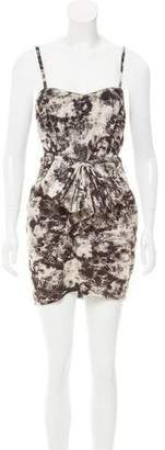 Mark & James by Badgley Mischka by Badgley Mischka Tie-Dye Mini Dress