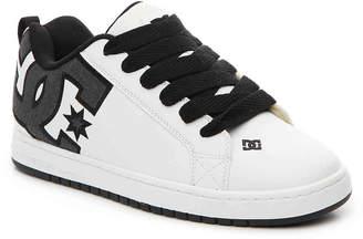 DC Court Graffik SE Sneaker -White/Grey - Men's