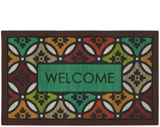 Mohawk Home Clementine Spice ''Welcome'' Doormat - 18'' x 30''