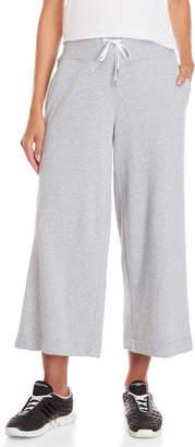 DKNY High-Waisted Culotte Sweatpants
