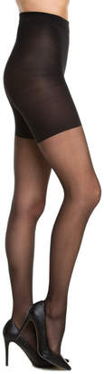 Spanx All The Way Pack Of 2 Sheer Black Tights