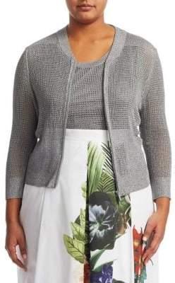 Marina Rinaldi Marina Rinaldi, Plus Size Mirra Knit Jacket