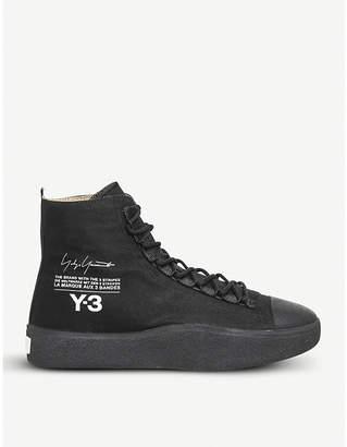 adidas Y3 Y-3 Bashyo suede high-top trainers