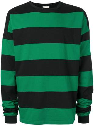 Marni striped long sleeved T-shirt