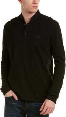 The Kooples The New Shiny Pique Polo Shirt