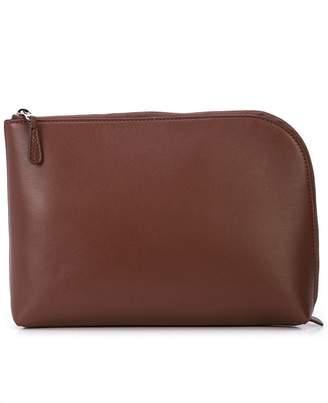 The Row round-corner clutch bag