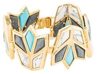 Lele Sadoughi Lotus Bracelet
