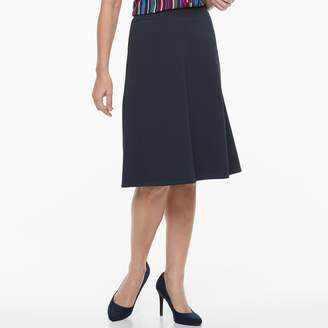 Dana Buchman Women's Crepe Pull-On Skirt