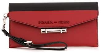 Prada Sybille two-tone leather bag