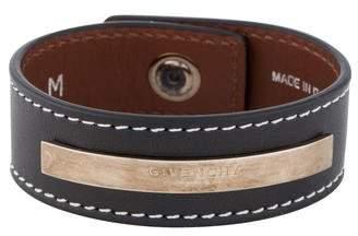 Givenchy Leather Cuff Bracelet