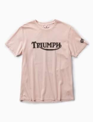 Lucky Brand TRIUMPH SPEED RECORD TEE