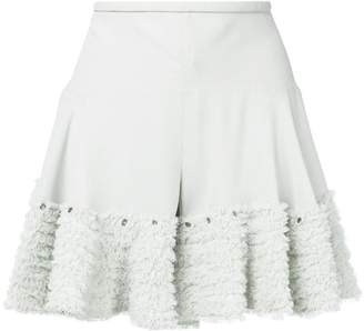 Chloé ruffled shorts