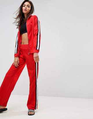 Asos DESIGN Co-ord Track Pants with Retro Tape Detail