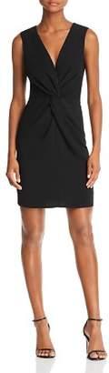 Aqua Twist-Front Sheath Dress - 100% Exclusive