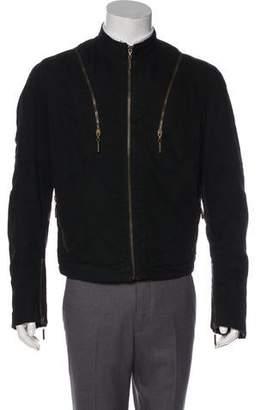 Just Cavalli Woven Zip-Up Jacket